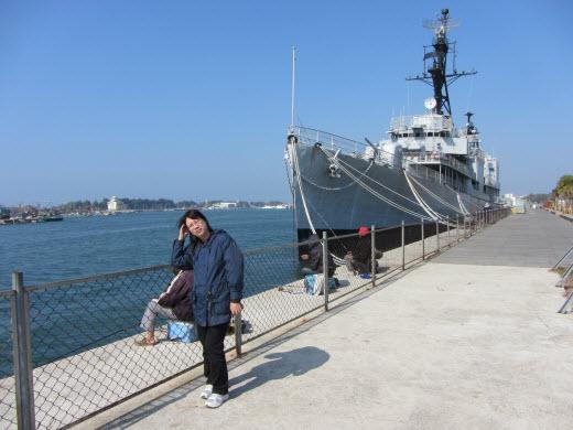 台南安平港德陽驅逐艦展示館