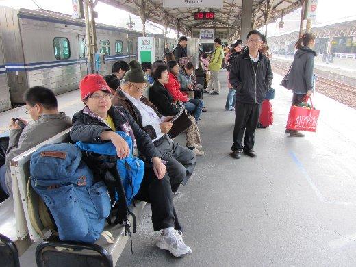 台南火車站月台
