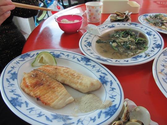 高雄旗津島廟前路海忠寶海鮮餐廳