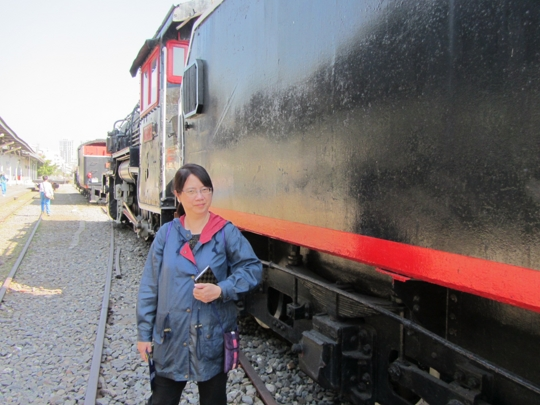 高雄鐵道文化園區 CT259 型古董蒸汽火車