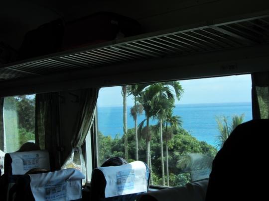 台灣南迴鐵道線 - 大武到台東 太平洋風光