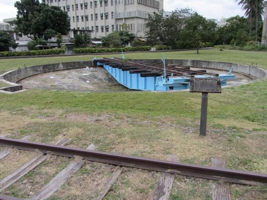 台東鐵道藝術村 - 舊台東火車站 轉車盤