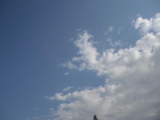 台東的天空