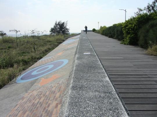 台東海濱公園 堤壩