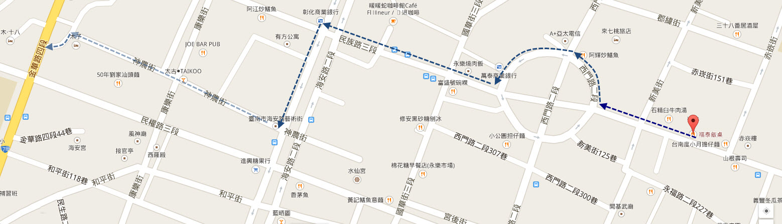 tainan-fort-provintia-walk-to-shen-nong-street