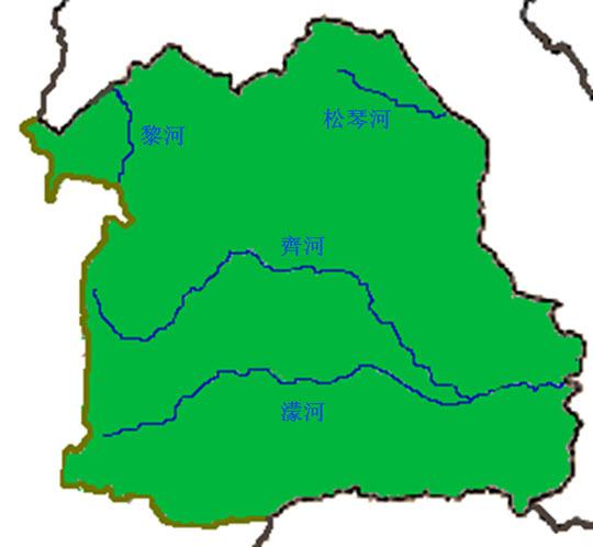 泰國依善地區四條主要河流