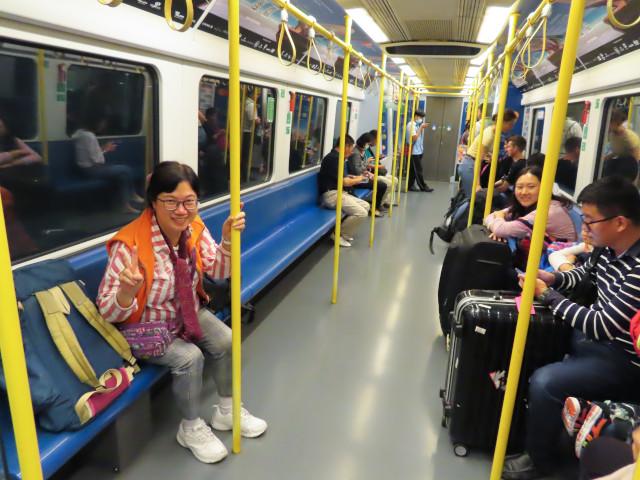 曼谷蘇凡納布機場 Airport Rail Link 往 Phaya Thai 站