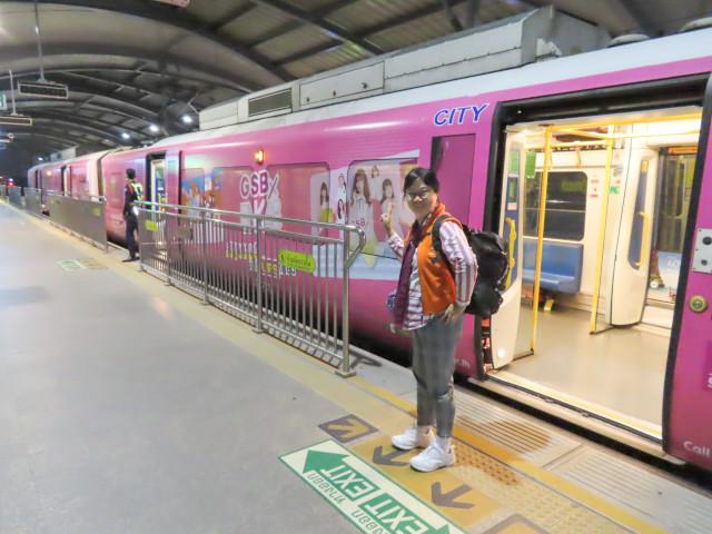 曼谷蘇凡納布機場 Airport Rail Link Phaya Thai 站