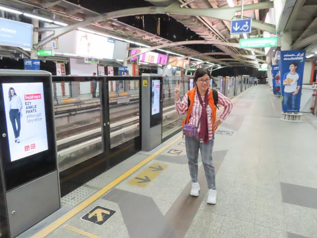 BTS Sukhumvit 線 Phaya Thai 站
