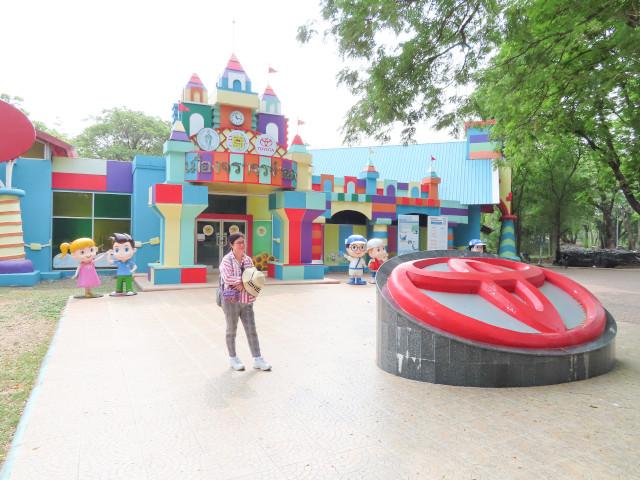 曼谷恰圖恰區 火車公園 交通模擬城市