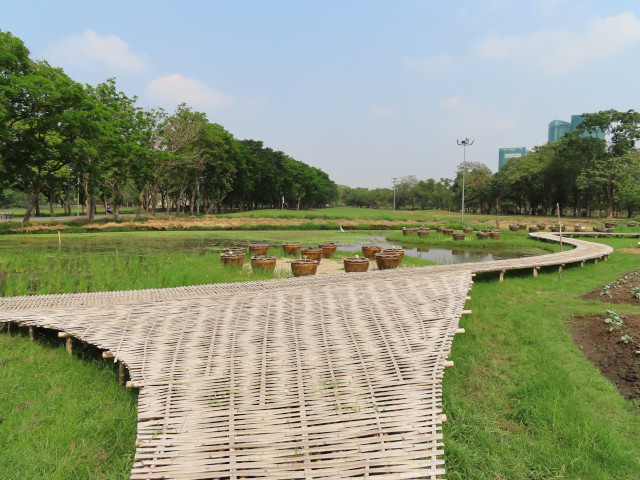 曼谷恰圖恰區 火車公園