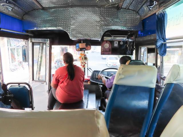呵叻舊巴士站乘巴士往 Dan Khun Thot
