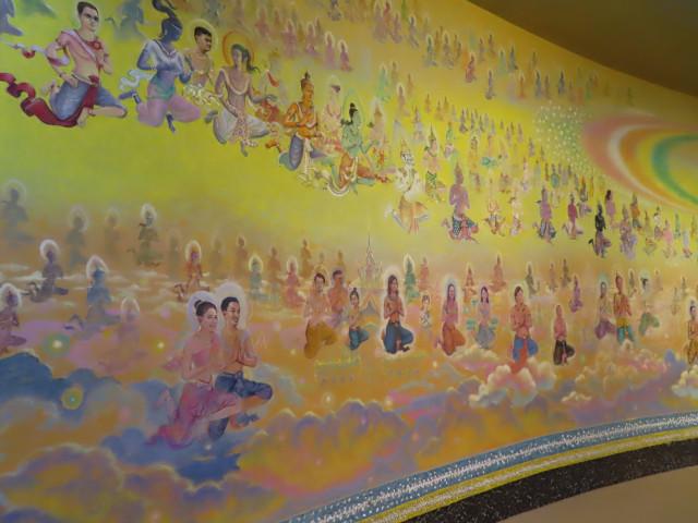 班麗寺 (Wat Banrai) 壁畫