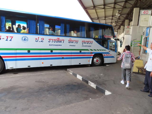 呵叻新巴士站往碧邁巴士乘車場