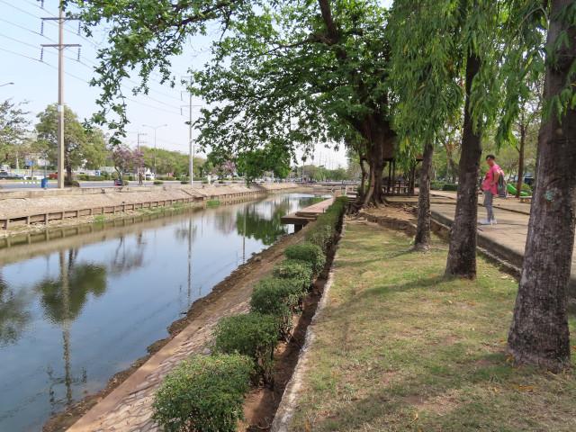 呵叻古城北面護城河
