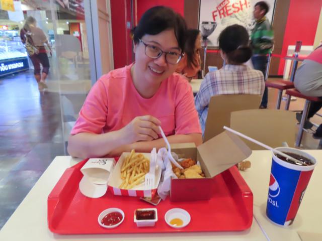 呵叻 Klang Plaza 商場 KFC