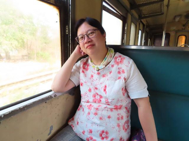 呵叻乘火車往孔敬