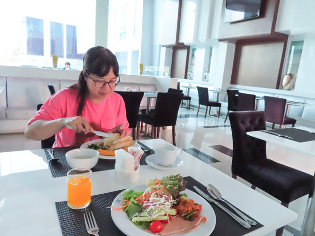 孔敬 Glacier Hotel (孔敬冰川飯店) 早餐