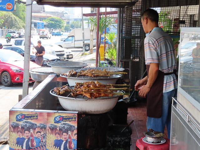 孔敬 Gai Yang Rabeab 餐館 烤雞