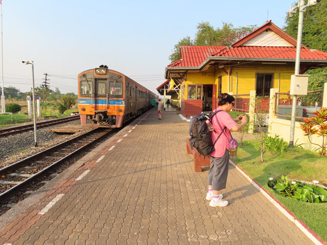 烏隆府.Kumphawapi 火車站