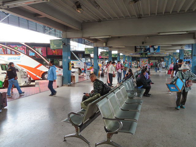 烏隆他尼第1巴士站 (Udon Thani Bus Terminal 1)