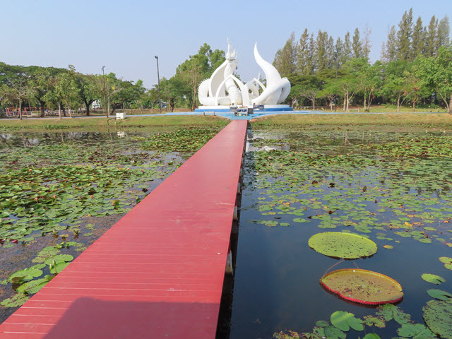 沙功那空 Sakon Nakhon 蓮花湖公園 (Chaloem Phrakiat Lotus Park)