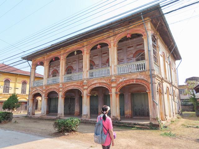 沙功那空 Sakon Nakhon 舊城區 Mr. Ong Luaen Treung Sorin 的古老住宅