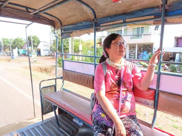 沙功那空 Sakon Nakhon 舊城區乘雙條返酒店