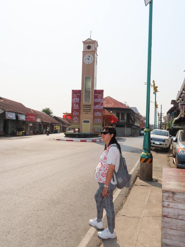 那空拍儂 (Nakhon Phanom) 湄公河畔 Clock Tower