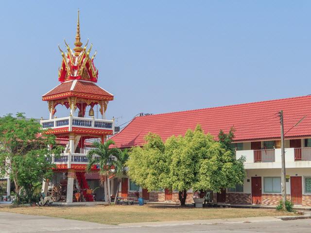 那空拍儂 Nakhon Phanom 湄公河畔 Wat Pho Sri