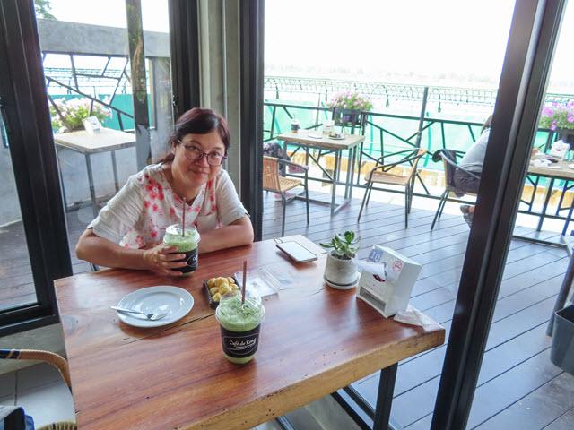 那空拍儂 Nakhon Phanom 湄公河畔 Cafe de kong 咖啡店