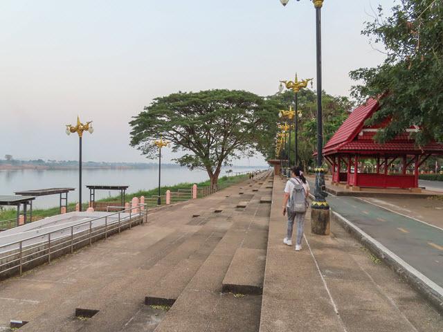 那空拍儂 Nakhon Phanom 湄公河畔步道