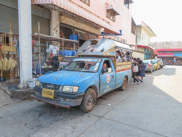 穆達漢 (Mukdahan) 市往 Phu Pha Thoep National Park 藍色雙條站