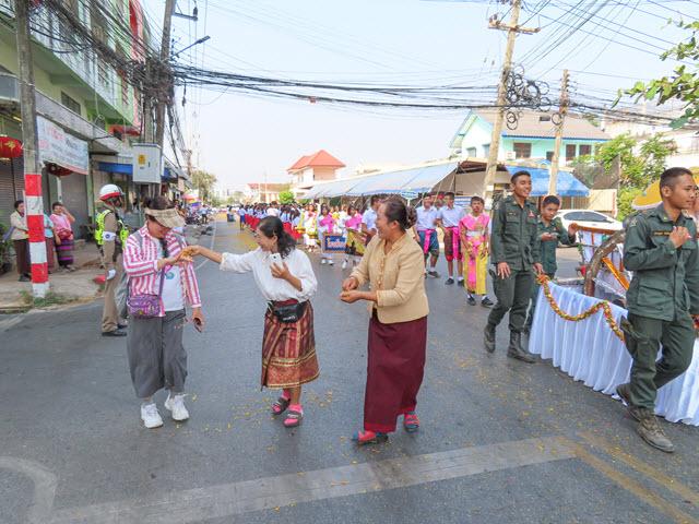 穆達漢 (Mukdahan) 市盛大巡遊