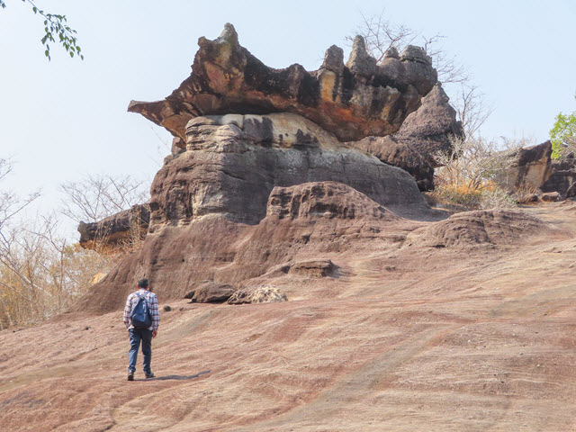 穆達漢 mukdahan Phu Pha Thoep National Park 奇巖怪石
