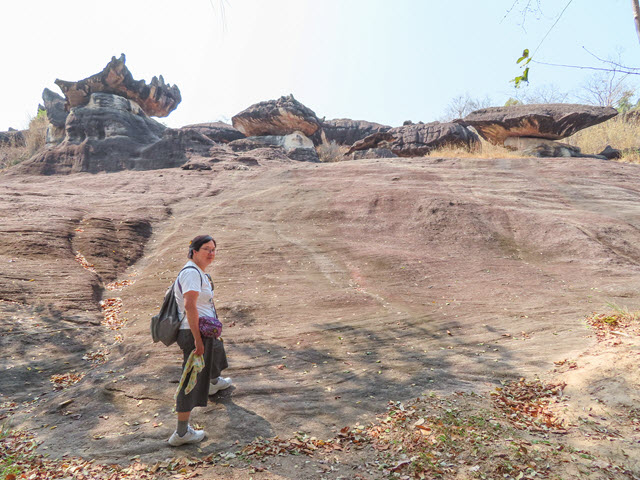 穆達漢 mukdahan Phu Pha Thoep National Park 國家公園入口