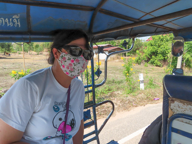 穆達漢 mukdahan Phu Pha Thoep National Park 國家公園 公路入口