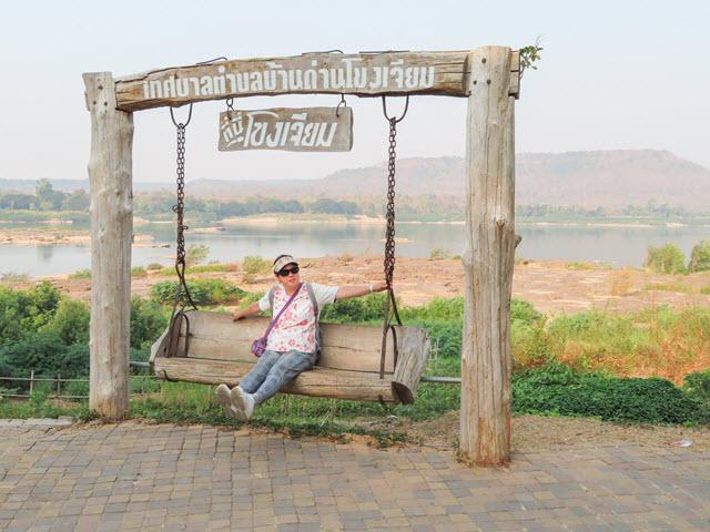 Khong Chiam Rim Khong Public Park、湄公河