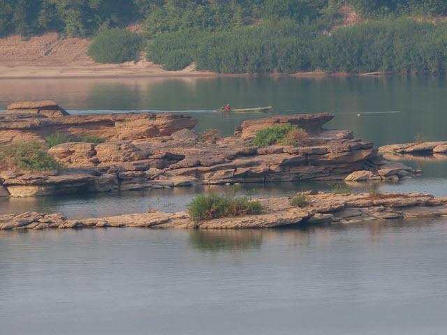 Khong Chiam Rim Khong Public Park 及湄公河
