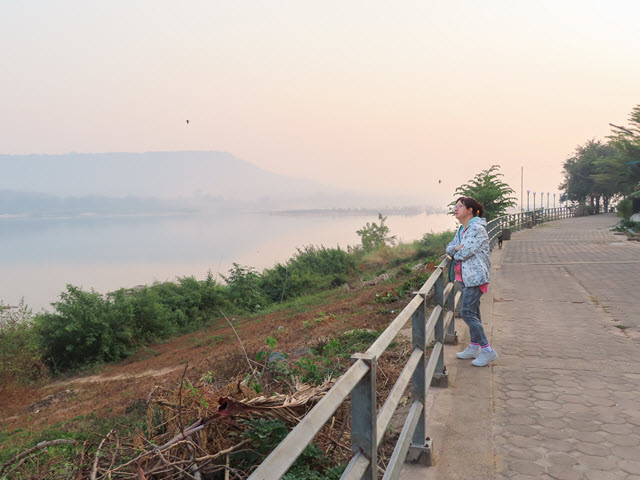 Khong Chiam 湄公河早上景色