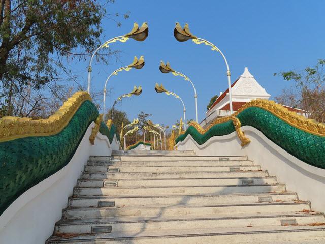 Khong Chiam Wat Tham Khuha Sawan 山下入口