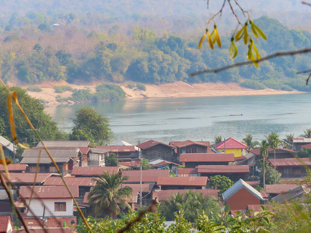 Khong Chiam 湄公河風景