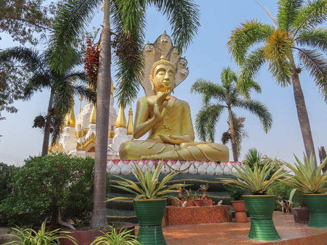 Khong Chiam Wat Tham Khuha Sawan
