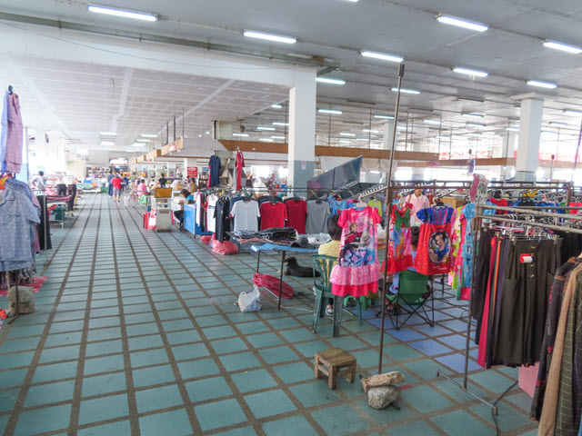 烏汶 Ubon Ratchathani Talad Yai Market 市場