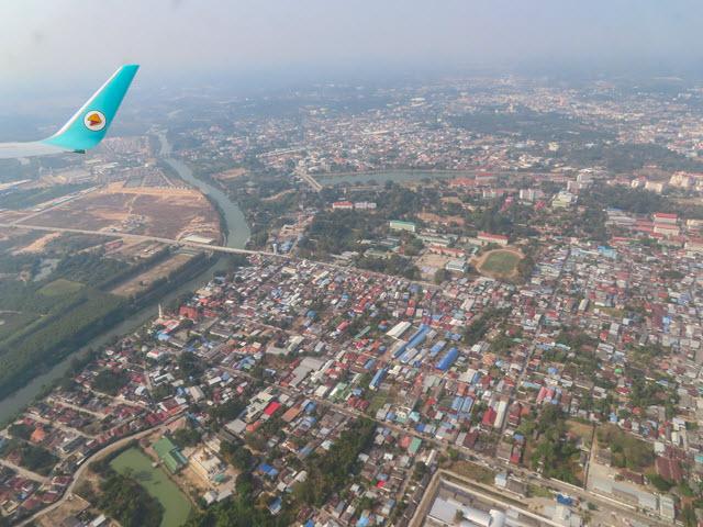 烏汶 Ubon Ratchathani 乘 NOR AIR 泰國內陸飛機往 曼谷