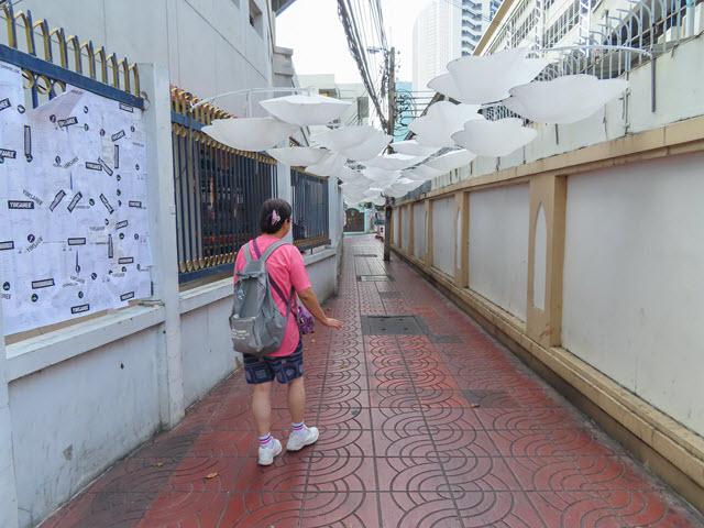 曼谷 步行往 昭披耶河