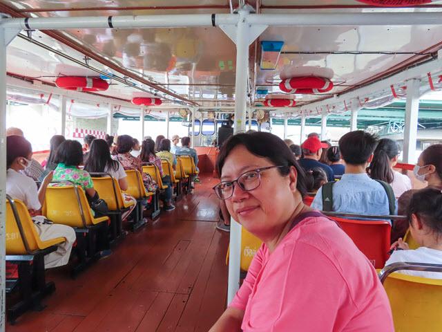 曼谷 昭披耶河船