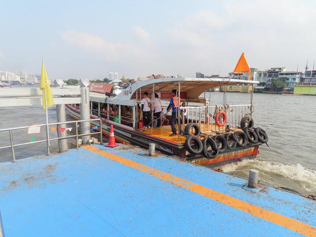 曼谷昭披耶河 鄭王廟碼頭