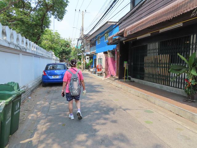 曼谷 Wat Kampaeng Bangchak Klong Bang Luang 水上市場