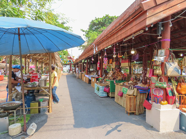 曼谷 Klong Bang Luang 水上市場